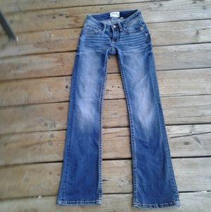 Bke blue jeans 24 Stella boot cut EUC